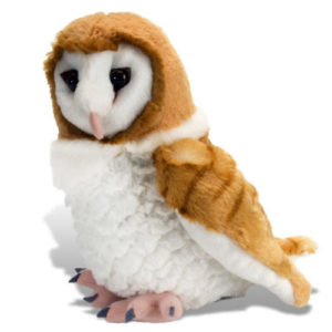 Barn Owl Stuffed Animal Plush Toy
