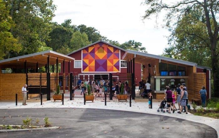 WNC Nature Center Front Entrance