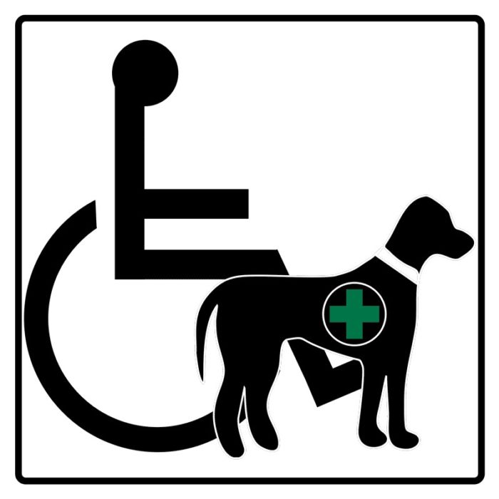 ADA Service Animal logo
