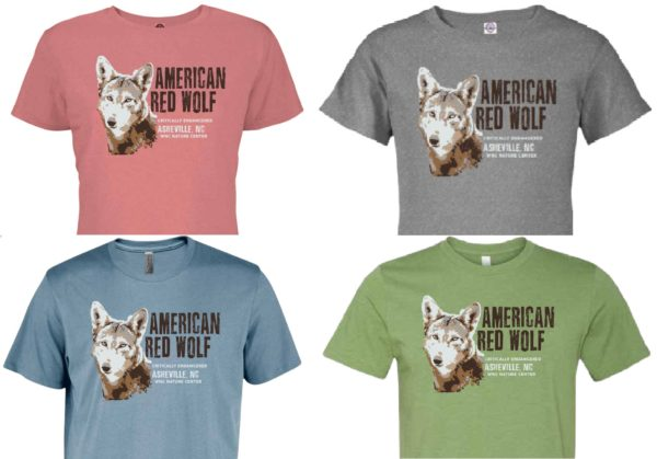 Adult Red Wolf Shirt