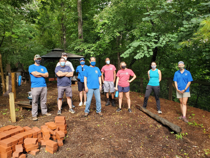 Rotary Club of Asheville and Asheville Rotaract Volunteer Work Group